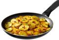 Bratkartoffeln mit Schinken und Zwiebeln, Rösti
